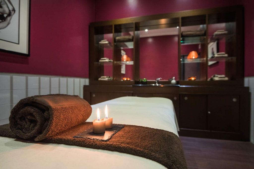 Sala da massagem do Hotel Vila Galé Ópera | Foto: divulgação