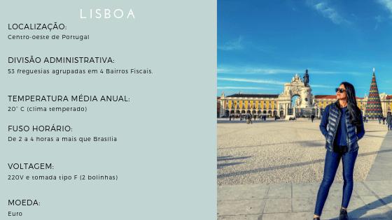 Informações gerais - Lisboa