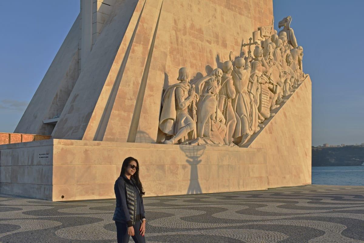 Monumento aos Descobrimentos em Belém   Foto: Anna