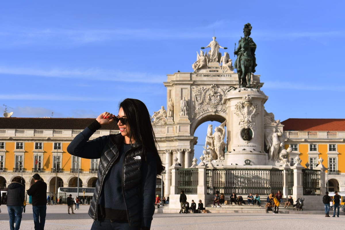 Dias de sol em Lisboa   Foto: Anna