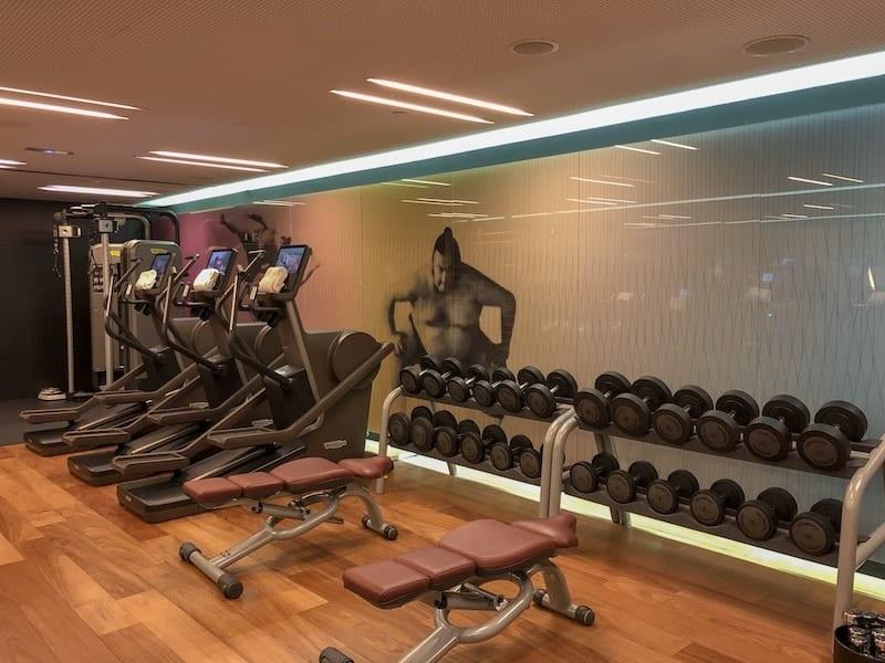 Fitness center do Mandarin Oriental Barcelona