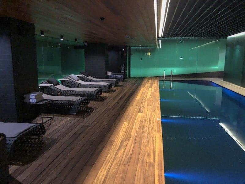 piscina coberta - Mandarin Oriental Barcelona