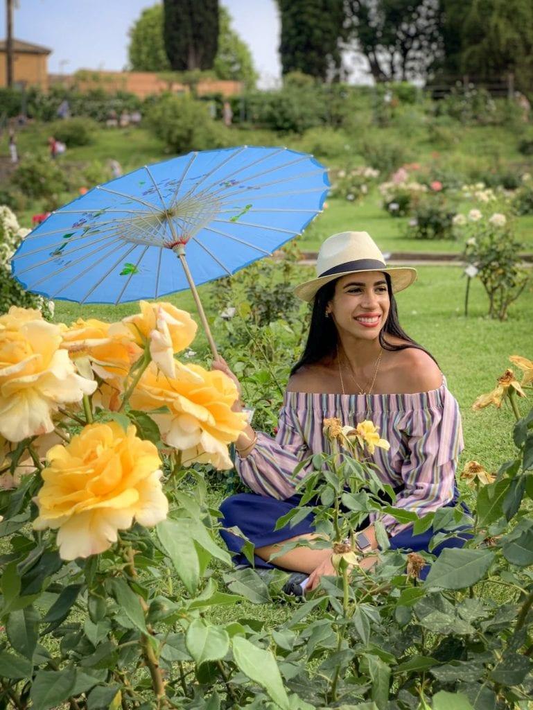 Jardim das Rosas em Roma