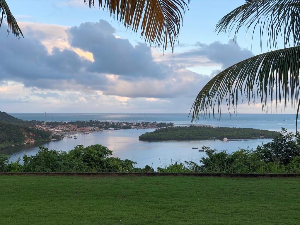 Lagoa do Roteiro vista do Gungaporanga Hotel