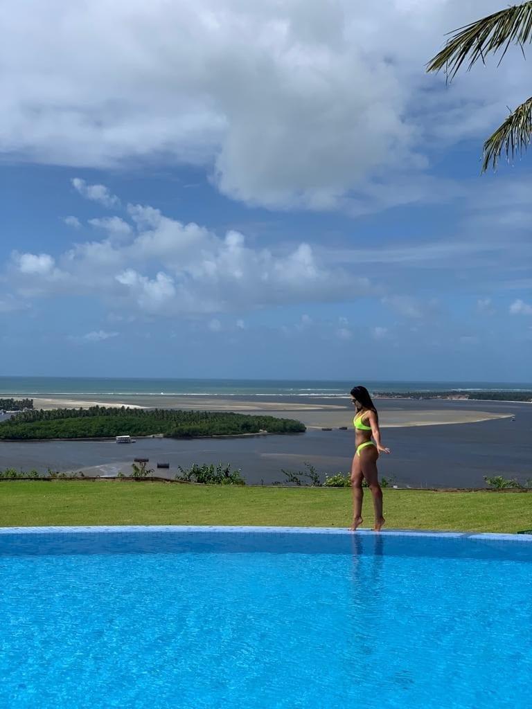 Gungaporanga Hotel - piscina - Barra de São Miguel