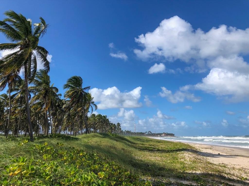 Praia do Francês em Marechal Deodoro
