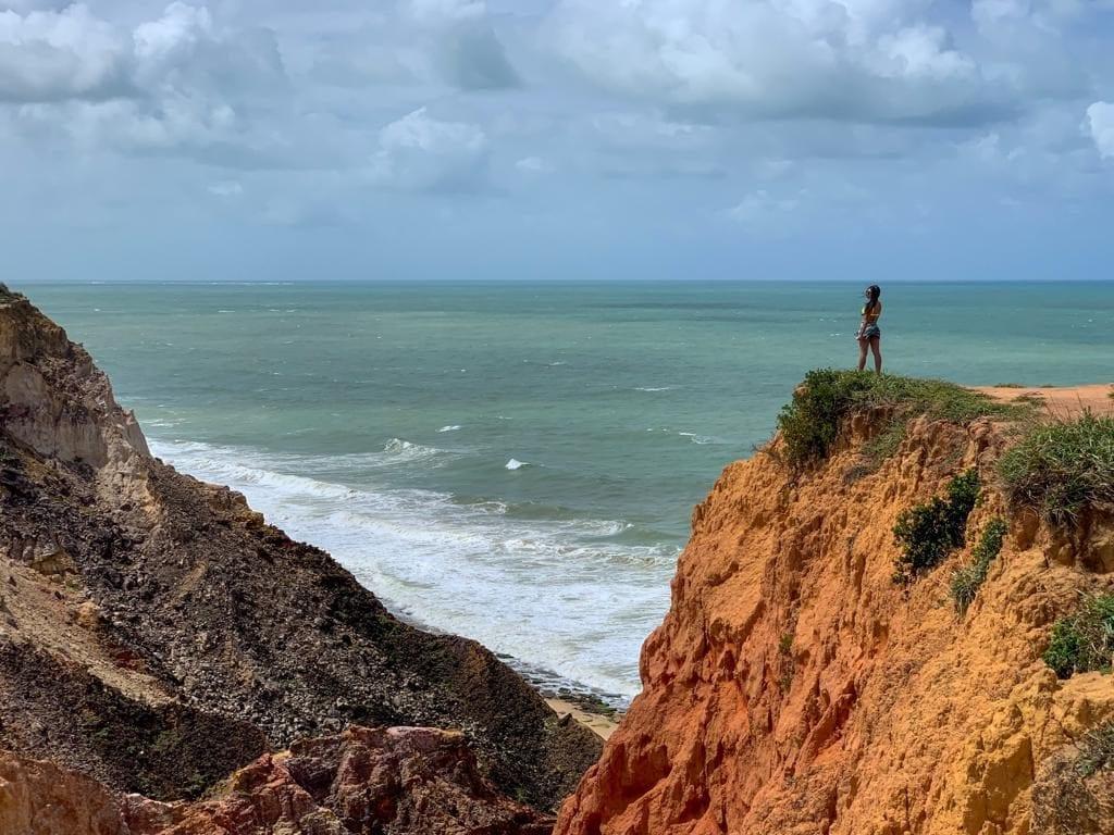 Falésias da Praia do Gunga - Barra de São Miguel