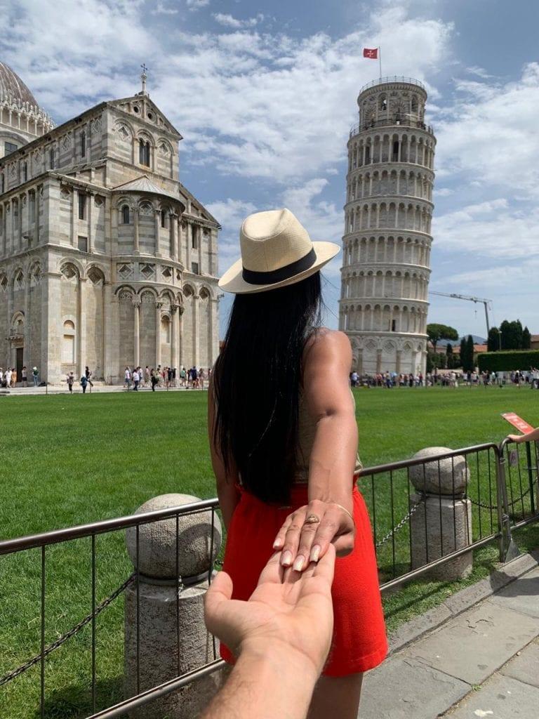 Torre de Pisa - região da Toscana