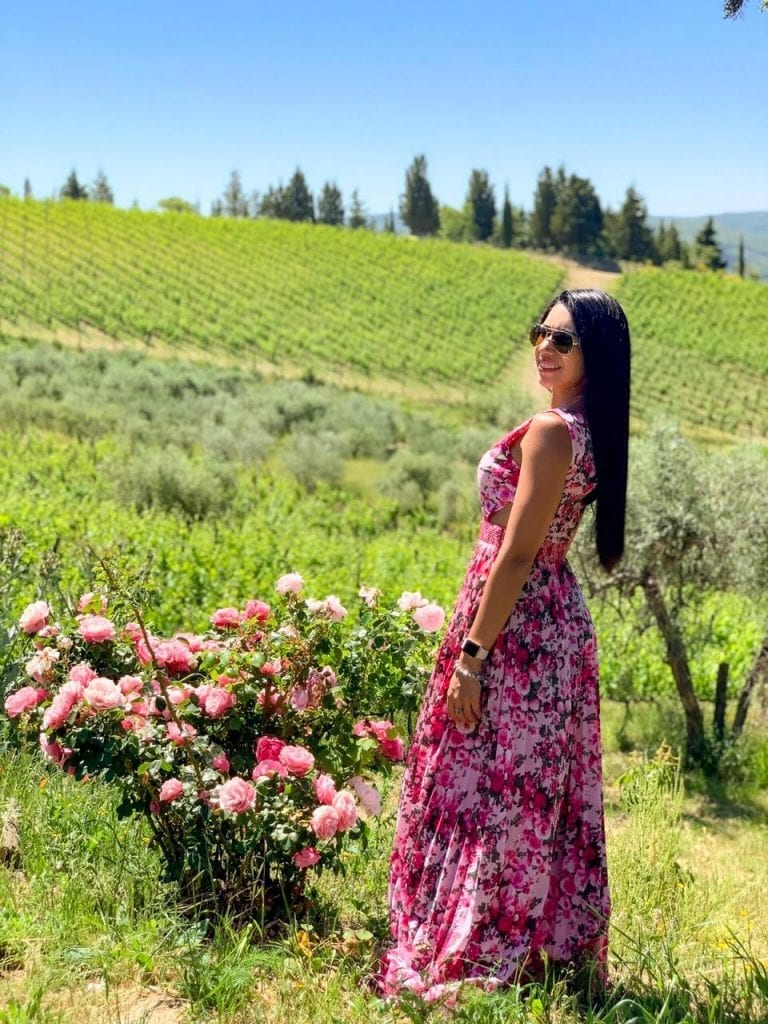 vinícola na Toscana