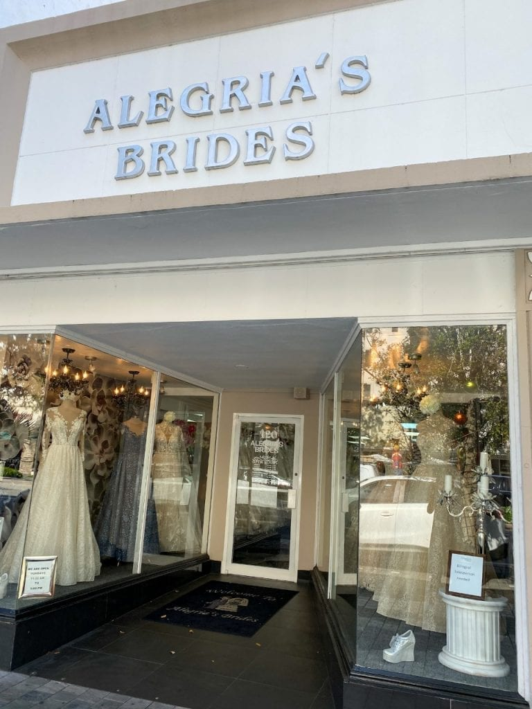 Vestido de Noiva em Miami - Coral Gables - Alegrias Brides