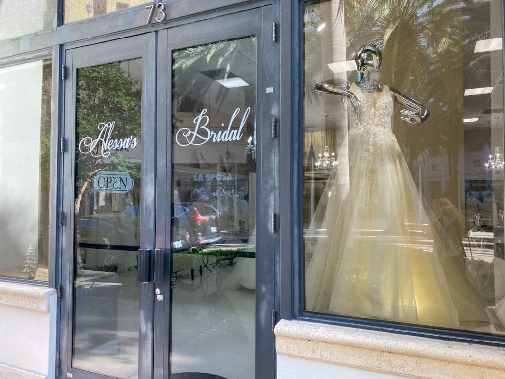 vestido de noiva em Miami - Coral Gables - Alessa's Bridal