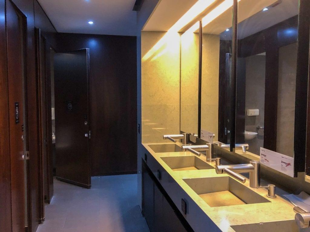 sala vip star alliance - banheiro