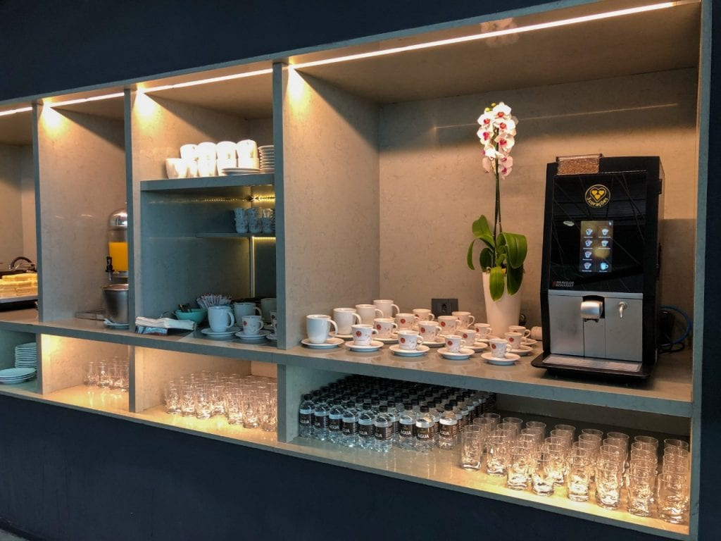 sala vip star alliance - cafés