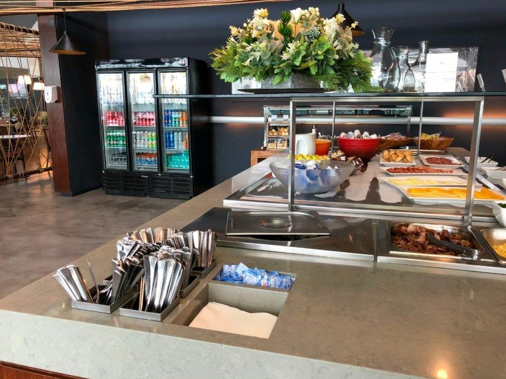 sala vip star alliance - buffet