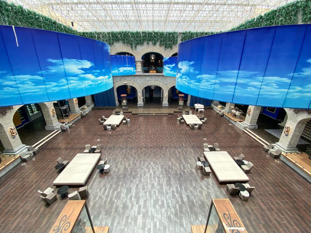 Lobby do Hotel Hard Rock Riveira Maya Heaven
