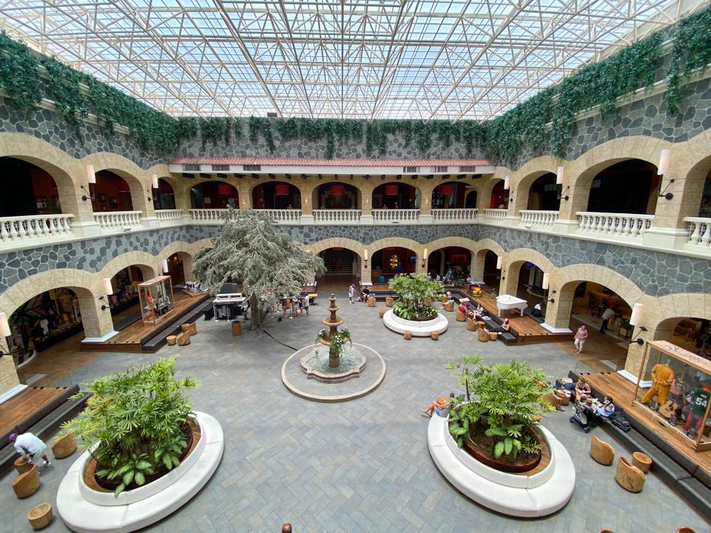 Lobby do Hotel Hard Rock Riveira Maya Hacienda
