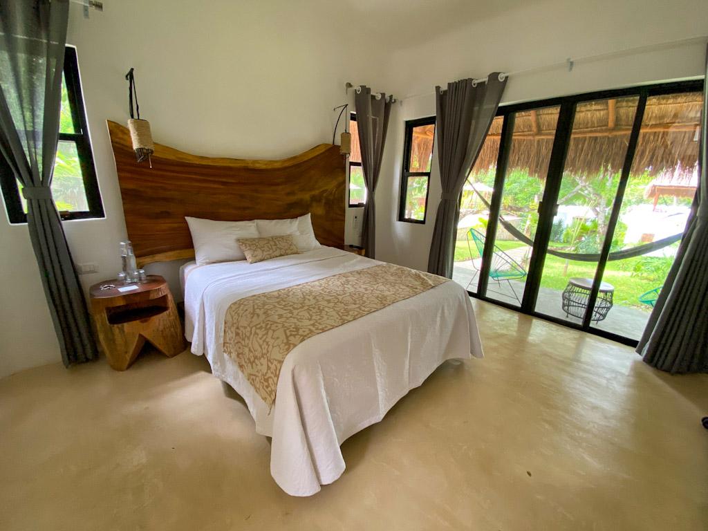 quarto do hotel Mi Kasa Tu Kasa Bacalar